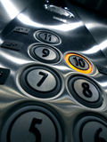 Κουμπιά ανελκυστήρων Στοκ Εικόνες