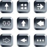 κουμπιά βελών Στοκ Εικόνες