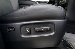 Κουμπιά για τη ρύθμιση της θέσης καθισμάτων στοκ εικόνα με δικαίωμα ελεύθερης χρήσης