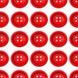 Κουμπιά για το διάνυσμα ενδυμάτων σε ένα άσπρο υπόβαθρο διανυσματική απεικόνιση