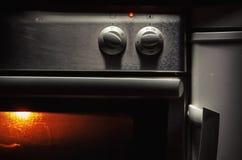 Κουμπιά ελέγχου φούρνων Στοκ εικόνες με δικαίωμα ελεύθερης χρήσης
