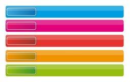 κουμπιά εμβλημάτων Στοκ φωτογραφίες με δικαίωμα ελεύθερης χρήσης