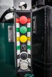 Κουμπιά ελέγχου Στοκ Εικόνα