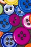 κουμπιά ζωηρόχρωμα Στοκ Εικόνα