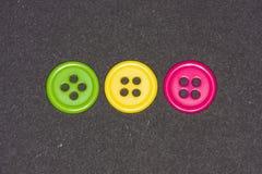 κουμπιά ζωηρόχρωμα Στοκ Φωτογραφίες