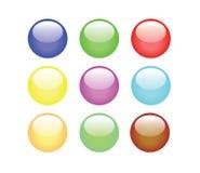 κουμπιά ζωηρόχρωμα Στοκ εικόνες με δικαίωμα ελεύθερης χρήσης