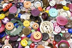 κουμπιά ζωηρόχρωμα Στοκ εικόνα με δικαίωμα ελεύθερης χρήσης