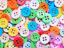κουμπιά ζωηρόχρωμα Στοκ Εικόνες
