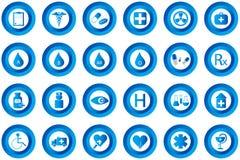 κουμπιά ιατρικά Στοκ φωτογραφία με δικαίωμα ελεύθερης χρήσης