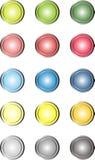 Κουμπιά Ιστού Στοκ εικόνα με δικαίωμα ελεύθερης χρήσης