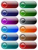 Κουμπιά Ιστού Στοκ Φωτογραφία