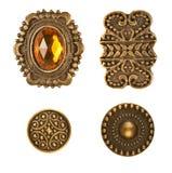 κουμπιά μεσαιωνικά Στοκ Φωτογραφία