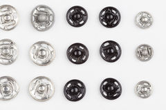 Κουμπιά μετάλλων Στοκ φωτογραφίες με δικαίωμα ελεύθερης χρήσης