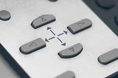 Κουμπιά με τα εικονίδια βελών Στοκ Εικόνα