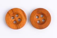 κουμπιά ξύλινα Στοκ Εικόνες