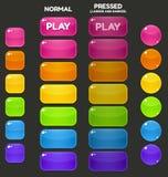Κουμπιά παιχνιδιών Στοκ φωτογραφία με δικαίωμα ελεύθερης χρήσης