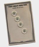 κουμπιά παλαιά Στοκ Φωτογραφίες