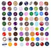 κουμπιά που τίθενται μεγά Στοκ φωτογραφία με δικαίωμα ελεύθερης χρήσης