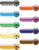 κουμπιά που χρωματίζοντα& Στοκ Φωτογραφίες