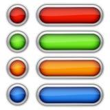 κουμπιά στιλπνά Στοκ φωτογραφίες με δικαίωμα ελεύθερης χρήσης