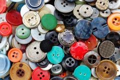 Κουμπιά στο χρώμα, συμπαθητικός και όμορφος Στοκ Εικόνες