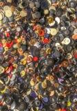 Κουμπιά υφασμάτων Στοκ εικόνα με δικαίωμα ελεύθερης χρήσης