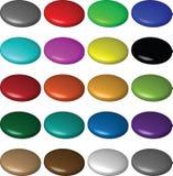 κουμπιά φυσαλίδων Στοκ εικόνες με δικαίωμα ελεύθερης χρήσης
