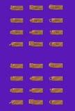 Κουμπιά χαλκού Στοκ εικόνα με δικαίωμα ελεύθερης χρήσης