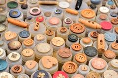 Κουμπιά όλων των μορφών Στοκ εικόνα με δικαίωμα ελεύθερης χρήσης