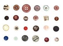 κουμπιά Στοκ φωτογραφίες με δικαίωμα ελεύθερης χρήσης