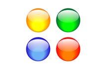 κουμπιά Στοκ Εικόνες