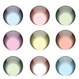 κουμπιών καλή ποιότητα γυαλιού χρωμάτων διαφορετική Στοκ φωτογραφία με δικαίωμα ελεύθερης χρήσης