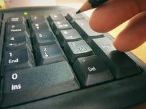 Κουμπώνει το αριθμητικό αριθμητικό πληκτρολόγιο Στοκ Εικόνες