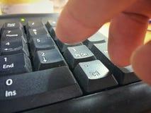 Κουμπώνει το αριθμητικό αριθμητικό πληκτρολόγιο Στοκ Φωτογραφίες