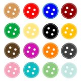 κουμπώστε τα κουμπιά Στοκ φωτογραφία με δικαίωμα ελεύθερης χρήσης