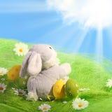 κουνέλι αυγών Πάσχας Στοκ Εικόνες