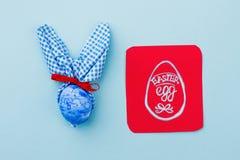 Κουνέλι Πάσχας και εικόνα του αυγού Πάσχας Στοκ φωτογραφίες με δικαίωμα ελεύθερης χρήσης
