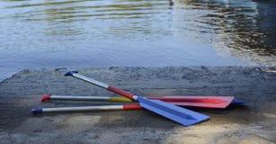 Κουπιά για μια βάρκα στοκ εικόνα