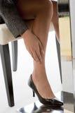 Κουρασμένα πόδια Στοκ Εικόνες