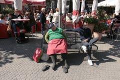 κουρασμένη γυναίκα στοκ εικόνες με δικαίωμα ελεύθερης χρήσης