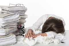 κουρασμένη επιχείρηση γ&upsilo Στοκ εικόνα με δικαίωμα ελεύθερης χρήσης