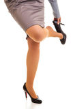 κουρασμένη πόδια γυναίκα στοκ φωτογραφίες