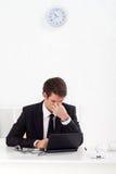 Κουρασμένος επιχειρηματίας Στοκ Εικόνες
