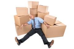 Κουρασμένος επιχειρηματίας στοκ εικόνες με δικαίωμα ελεύθερης χρήσης