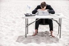 Κουρασμένος της εργασίας γραφείων Στοκ Φωτογραφία