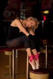 Κουρασμένος χορευτής στοκ φωτογραφία με δικαίωμα ελεύθερης χρήσης