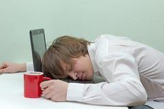 Κουρασμένος Στοκ φωτογραφία με δικαίωμα ελεύθερης χρήσης