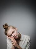 κουρασμένος Στοκ εικόνες με δικαίωμα ελεύθερης χρήσης