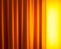 Κουρτίνα λαμπτήρων πατωμάτων μπροστά Στοκ εικόνα με δικαίωμα ελεύθερης χρήσης