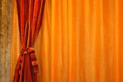 κουρτίνα οριζόντια Στοκ Φωτογραφίες